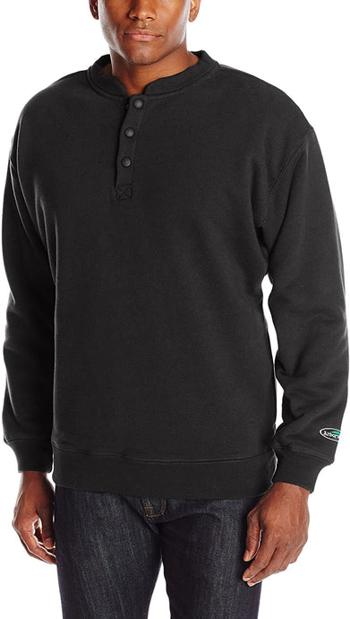 Arborwear Men's Double Thick Crew Sweatshirt in Black from the from