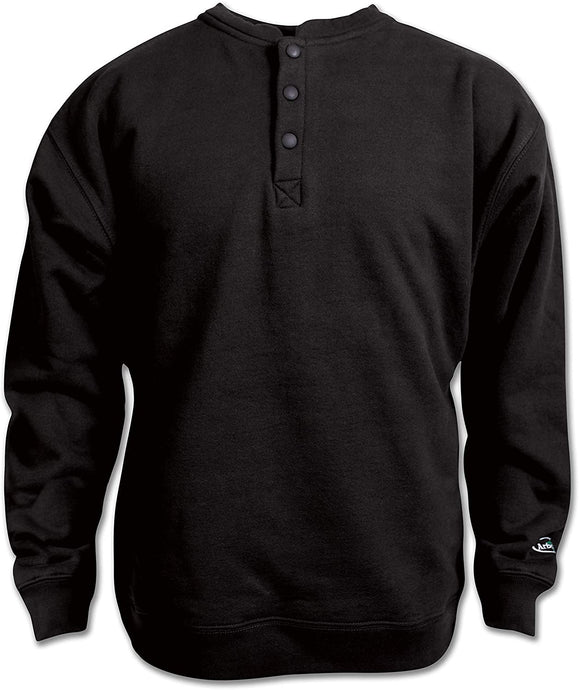 Arborwear Men's Single Thick Crew Sweatshirt in Black from the from