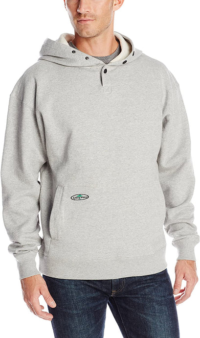 Arborwear Men's Single Thick Pullover Sweatshirt in Athletic Grey from the from