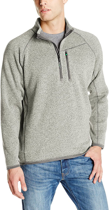 Men's Arborwear Staghorn Pullover Sweater in Stone