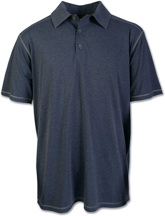 Men's Arborwear Tech Polo Heather in Blue
