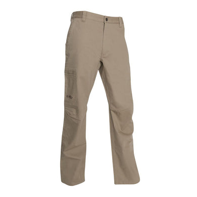 Men's Arborwear Willow Flex Pant in Driftwood from the front view
