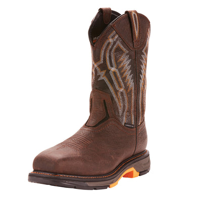 Men's Ariat WorkHog XT Dare Carbon Toe Work Boot in Bruin Brown