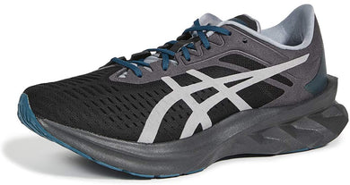 Men's Asics Novablast Sps Running Shoe In Black Sheet Rock