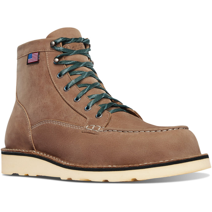 Danner Men's Bull Run Lux Lifestyle Boot in Burro Brown from the side
