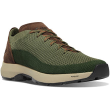 "Load image into Gallery viewer, Danner Men's Caprine Low 3"" Lifestyle Shoe in Deep Lichen/Kombu from the side"