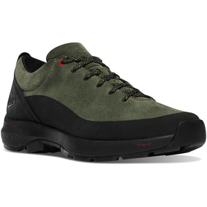 "Danner Men's Caprine Low 3"" Lifestyle Shoe in Deep Lichen from the side"