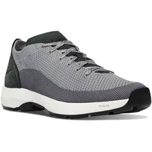 "Load image into Gallery viewer, Danner Men's Caprine Low 3"" Lifestyle Shoe in Gray from the side"