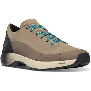 "Danner Men's Caprine Low 3"" Lifestyle Shoe in Plaza Taupe from the side"