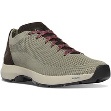 "Load image into Gallery viewer, Danner Men's Caprine Low 3"" Lifestyle Shoe in Rock Ridge/Sable from the side"