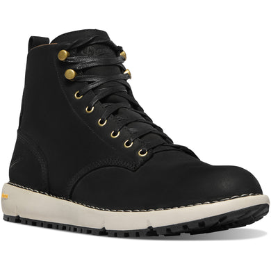 Danner Men's Logger 917 Gore-Tex Waterproof Lifestyle Boot in Black from the side