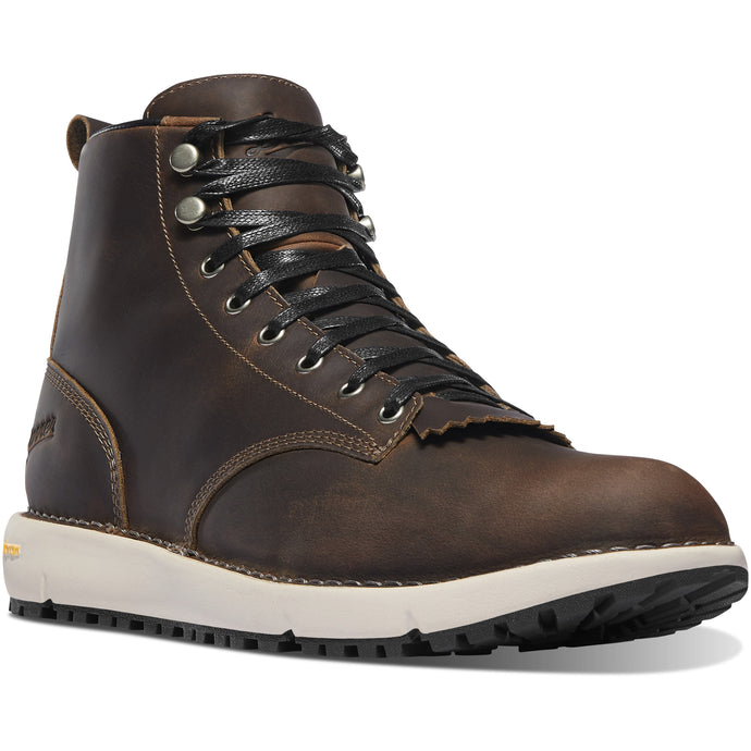 Danner Men's Logger 917 Lifestyle Boot in Chocolate Chip from the side