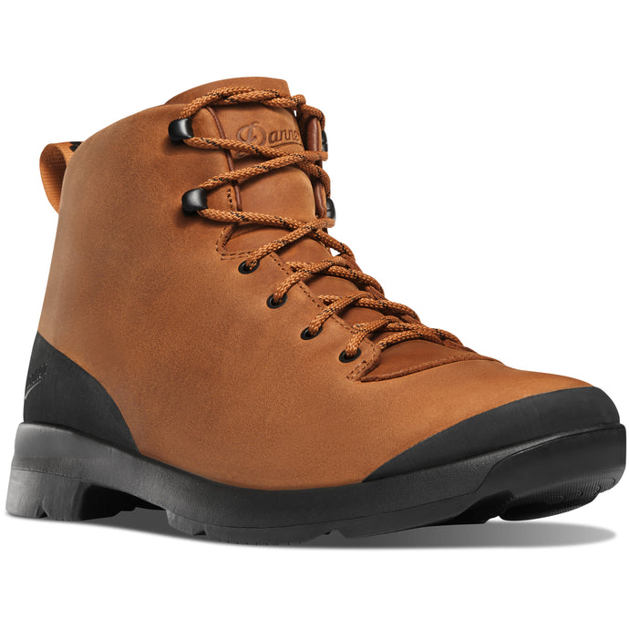 Danner Men's Pub Garden Waterproof Lifestyle Boot in Cathay Spice from the side