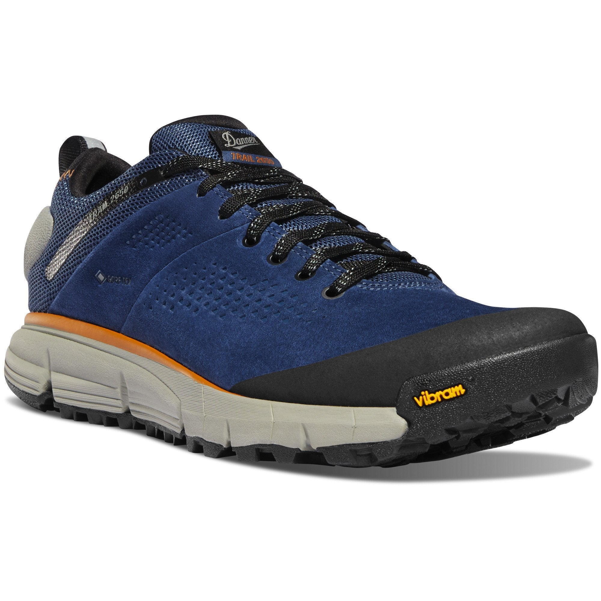 "Trail 2650 3"" Gore-Tex Hiking Shoe in Denim Blue color from the side view"