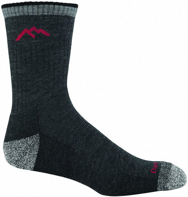 Men's Darn Tough Hiker Micro Crew Midweight with Cushion Sock in Black