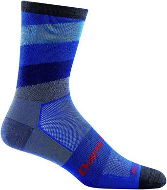 Men's Darn Tough Stage Micro Crew Ultra-Lightweight Sock in Marine