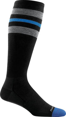 Men's Darn Tough Vertex OTC Ultra-Lightweight w/ Graduated Light Compression Sock in Black