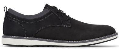 Dockers Men's Braxton Casual Oxford Shoe in Black from the side