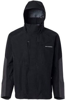 Grundéns Men's Buoy X Gore-Tex 3L Rain Jacket in Black from the front