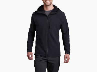 Men's Kuhl Protektr Hoody Jacket In Raven