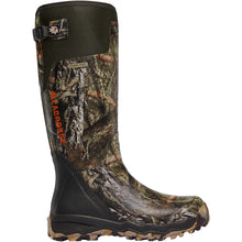 "Load image into Gallery viewer, LaCrosse Men's Alphaburly Pro 18"" Waterproof Hunting Boot in Mossy Oak Break-up Country from the side"