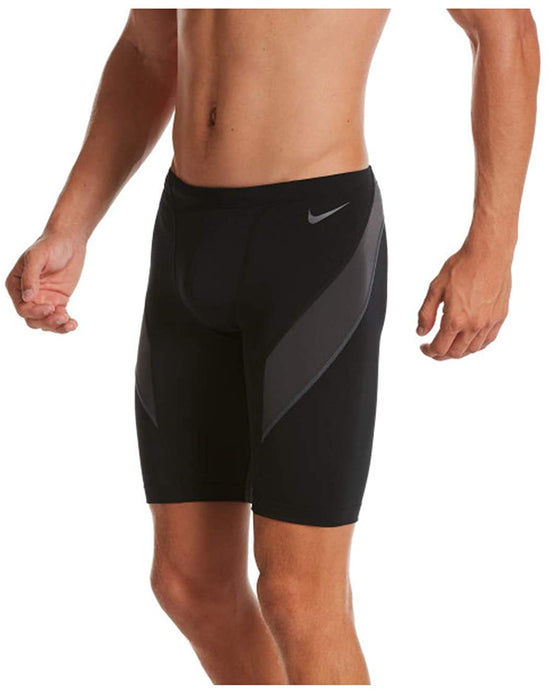Men's Nike Swim Vex Jammer in Black