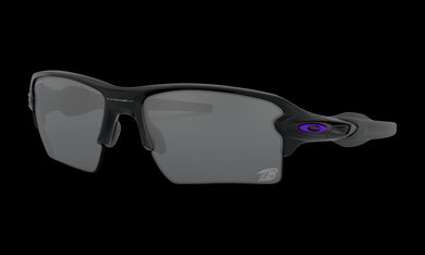 Men's Oakley Baltimore Ravens Flak 2.0 XL Sunglasses in Matte Black Prizm Black