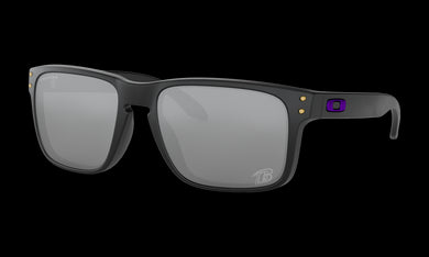 Men's Oakley Holbrook Sunglasses in Matte Black Prizm Black