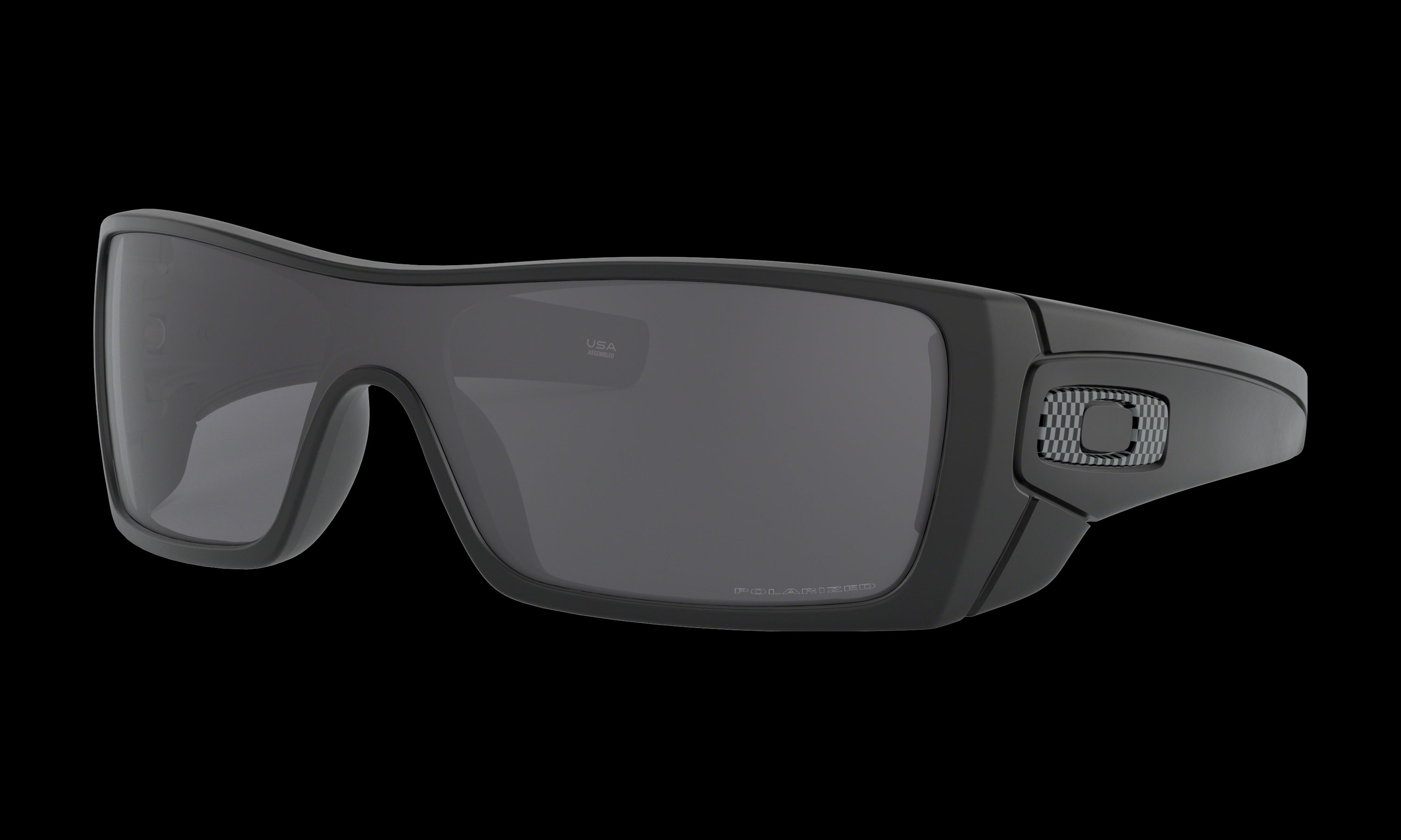 Men's Oakley Batwolf Sunglasses in Matte Black Grey Polarized