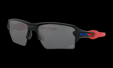 Men's Oakley Buffallo Bills Flak 2.0 XL Sunglasses in Matte Black Prizm Black