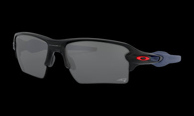 Men's Oakley England Patriots Flak 2.0 XL Sunglasses in Matte Black Prizm Black