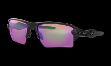 Men's Oakley Flak 2.0 XL Sunglasses in Polished Black Prizm Golf