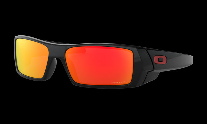 Men's Oakley Gascan Sunglasses in Polished Black Prizm Ruby