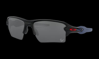 Men's Oakley Houston Texans Flak 2.0 XL Sunglasses in Matte Black Prizm Black