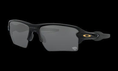 Men's Oakley Jacksonville Jaguars Flak 2.0 XL Sunglasses in Matte Black Prizm Black