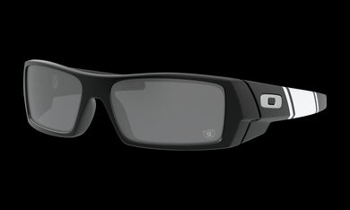 Men's Oakley Las Vegas Raiders Gascan Sunglasses in Matte Black Prizm Black