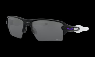 Men's Oakley Minnesota Vikings Flak 2.0 XL Sunglasses in Matte Black Prizm Black