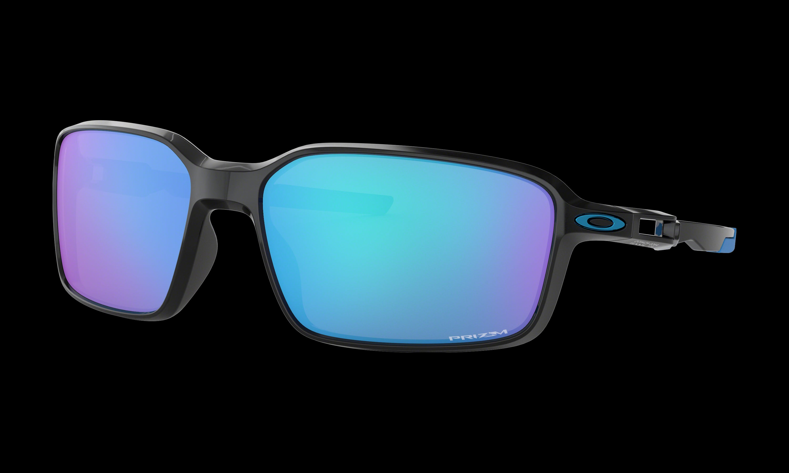 Men's Oakley Siphon Sunglasses in Polished Black Prizm Sapphire