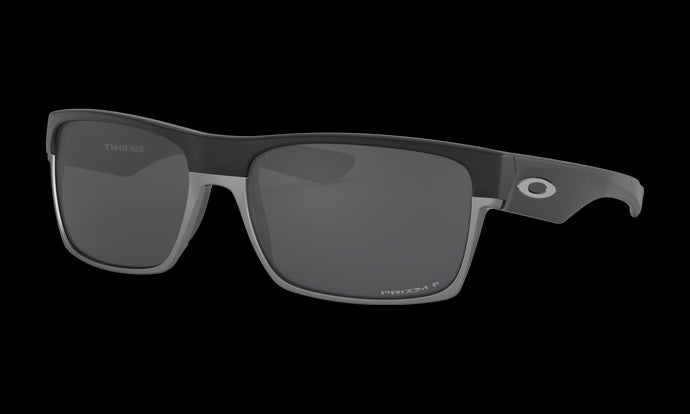Men's Oakley Twoface Sunglasses in Matte Black Prizm Black Polarized