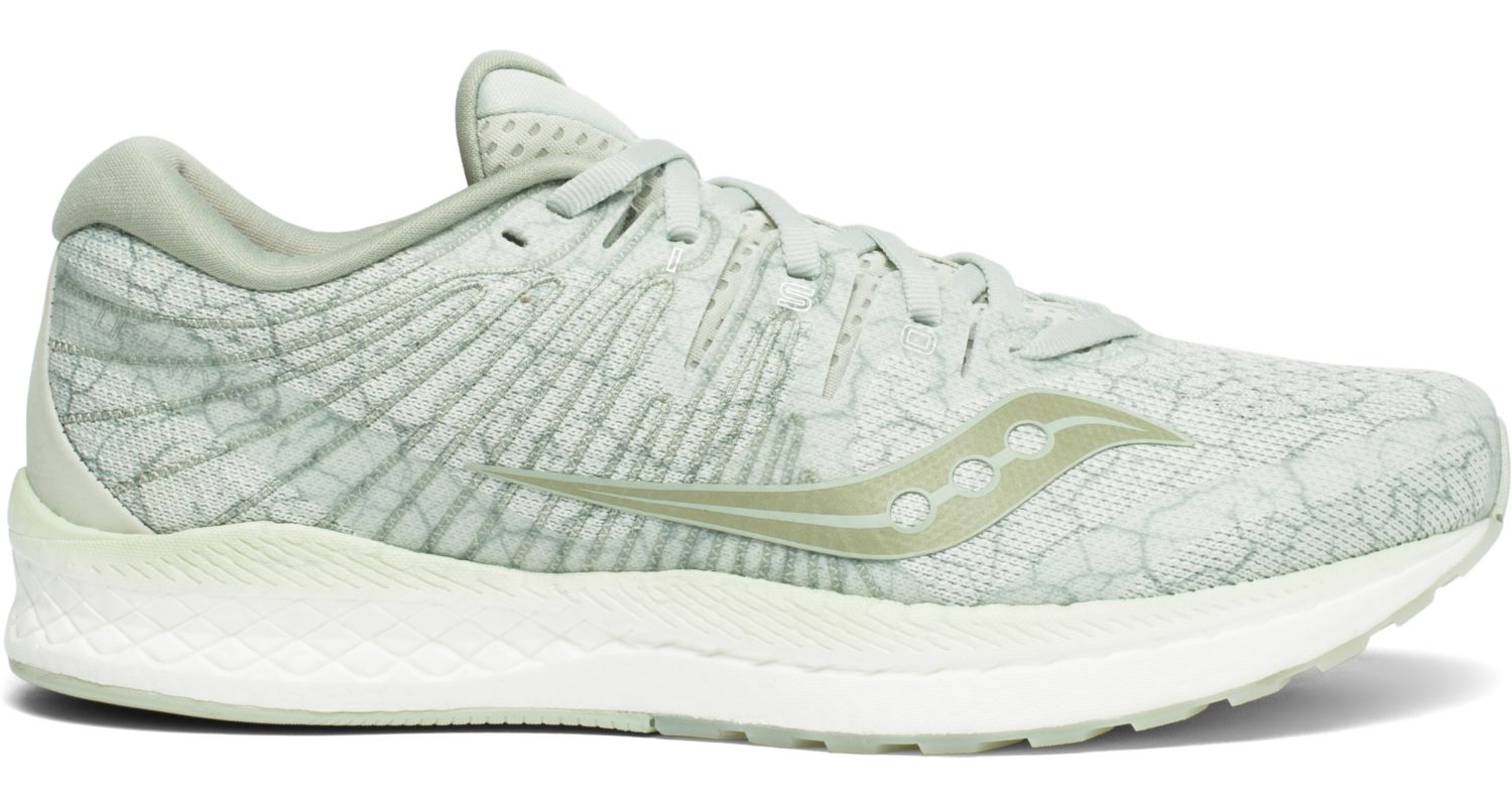 Saucony Men's Liberty Iso 2 Running Shoe in Sage Quake from the side