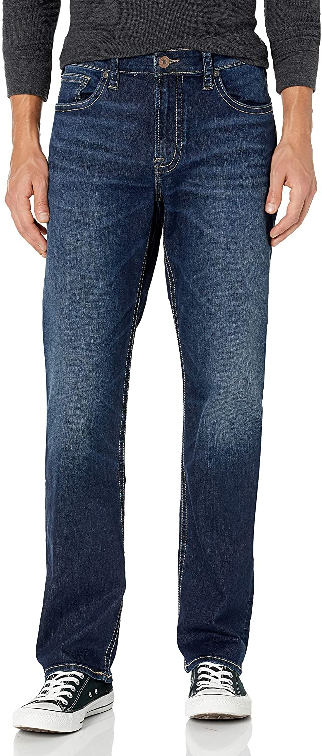 Men's Silver Jeans Grayson Jeans Indigo 2 in front view