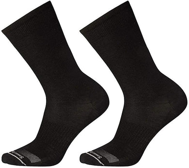 Men's Smartwool Anchor Line Crew 2 Pack in Black