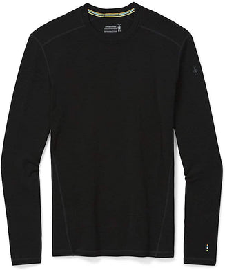 Men's Smartwool Merino 250 Baselayer Crew in Black