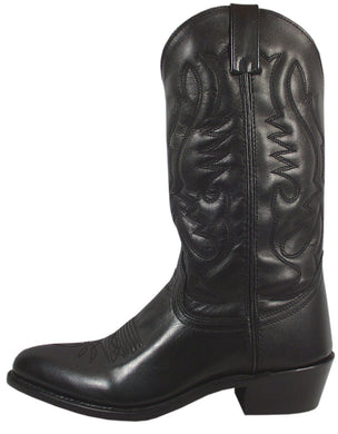 Men's Smoky Mountain Denver Leather Boot in Black