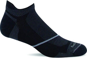 Men's Sockwell Pulse Micro Firm Compression Sock in Black