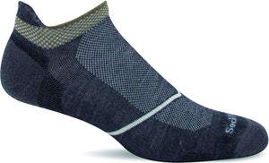 Men's Sockwell Pulse Micro Firm Compression Sock in Charcoal