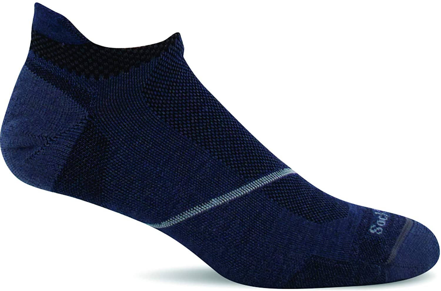 Men's Sockwell Pulse Micro Firm Compression Sock in Denim
