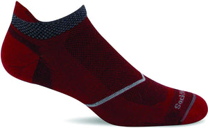 Men's Sockwell Pulse Micro Firm Compression Sock in Ruby