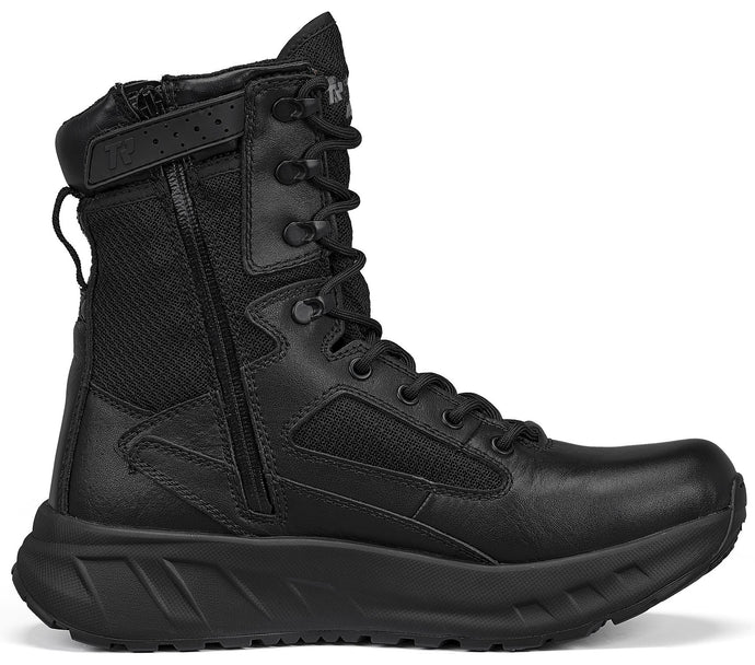 Tactical Research Men's MAXX 8Z Maximalist Tactical Boot in Black from the side