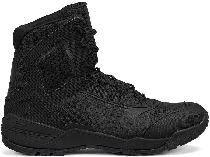 "Tactical Research Men's TR1040-T 7"" Ultralight Tactical Boot in Black from the side"